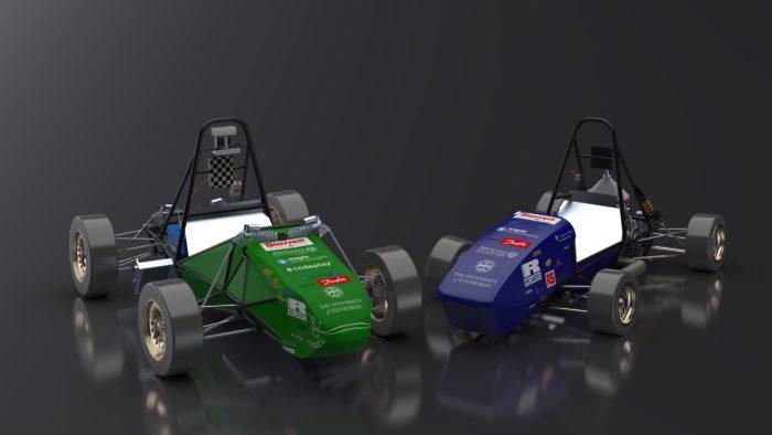 EUFS Formula Student cars 2020