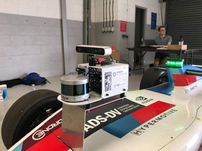 Mapix technologies provided Velodyne LiDAR sensor to the EUFS team