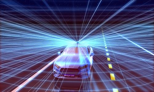 Velodyne Lidar autonomous car