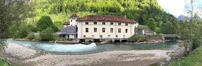 Lessoc Dam