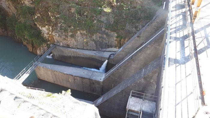 Rossière dam, Switzerland