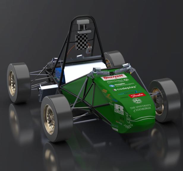 EUFS autonomous race car