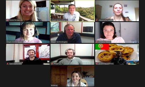 Mapix technologies team photo 2020