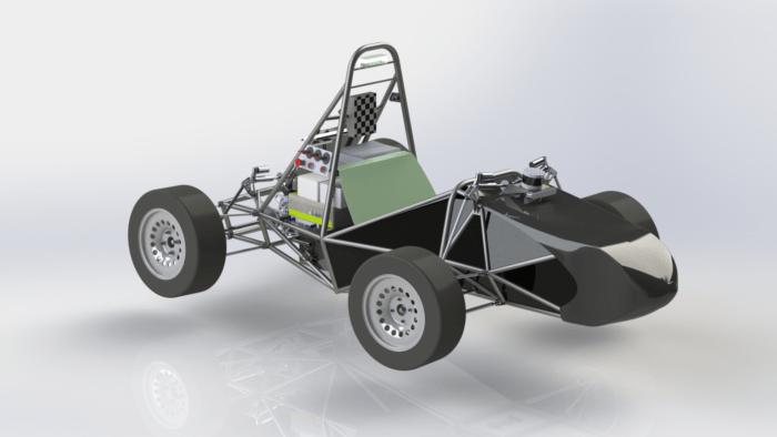 EUFS autonomous race car 2020